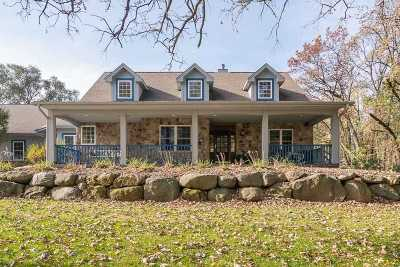 Jefferson County Single Family Home For Sale: W1246 Schuyler Rd