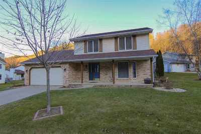 Cross Plains WI Single Family Home For Sale: $299,900