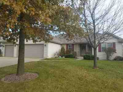 Janesville Single Family Home For Sale: 1018 Bedford Dr