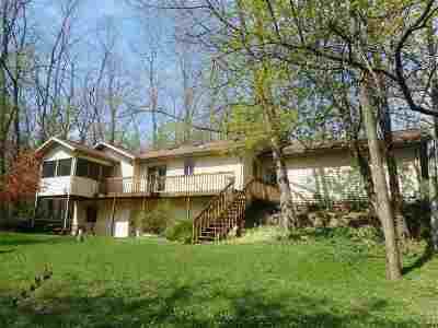 Milton Single Family Home For Sale: 10206 N Trescher Rd