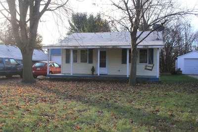 Evansville Single Family Home For Sale: 5315 W Fair St