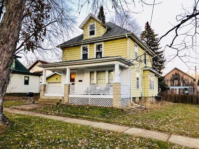 Columbus Single Family Home For Sale: 536 W Harrison St