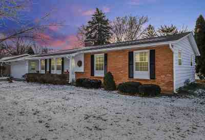 Sun Prairie WI Single Family Home For Sale: $226,000