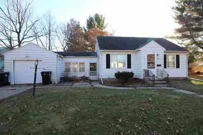 Beloit Single Family Home For Sale: 1802 Summit Ave