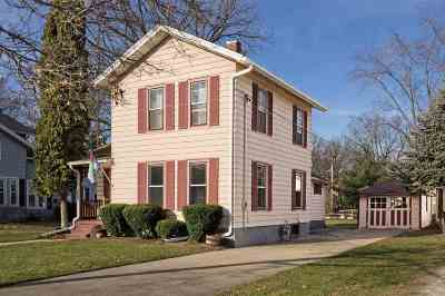 Evansville Single Family Home For Sale: 236 W Church St