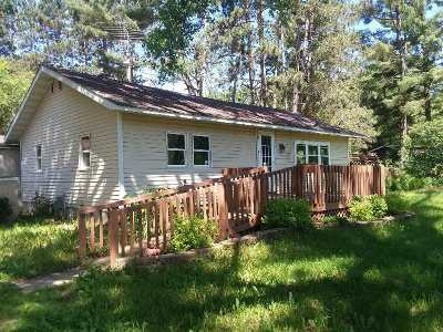 Friendship WI Single Family Home For Sale: $62,500