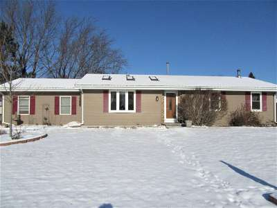 Milton Single Family Home For Sale: 1272 Woodland Dr