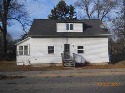 Adams WI Single Family Home For Sale: $33,900