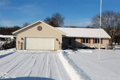 Janesville Single Family Home For Sale: 4213 N Galaxy Dr
