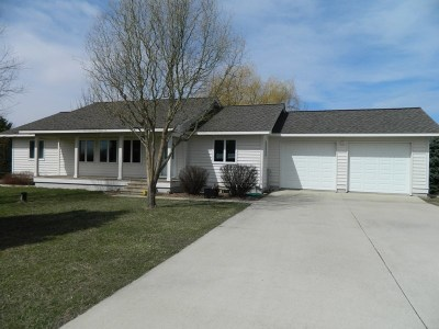 Green County Single Family Home For Sale: N2231 Richland Rd