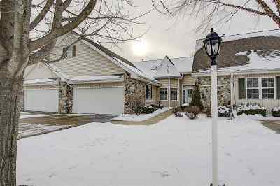 Waunakee Condo/Townhouse For Sale: 5626 Steeplechase Dr