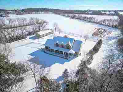 Waterloo Single Family Home For Sale: N6979 Kuhl Rd