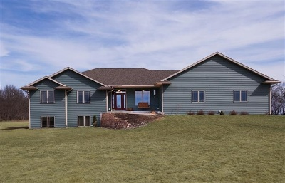 Green County Single Family Home For Sale: N4618 County Road E