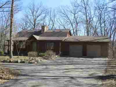 Sauk County Single Family Home For Sale: S3242 Buckhorn Rd