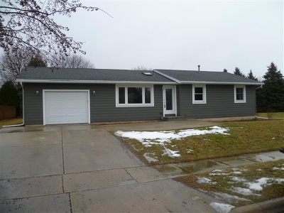 Stoughton Single Family Home For Sale: 1523 N Page St