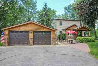 Jefferson County Single Family Home For Sale: N3055 Buena Vista Rd