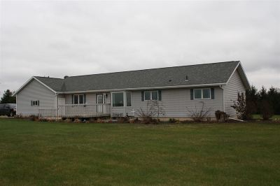 Dodge County Single Family Home For Sale: N8445 County Road Fw