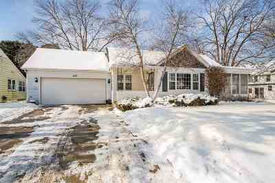 Waterloo Single Family Home For Sale: 429 Jefferson St