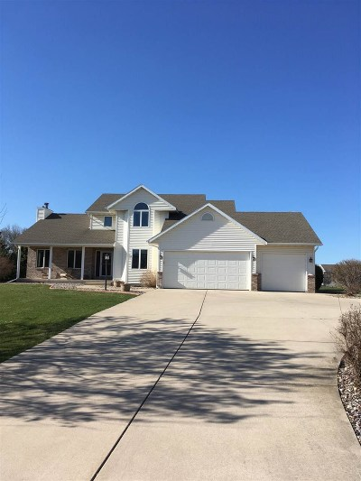 Columbia County Single Family Home For Sale: W4072 Palmer Rd