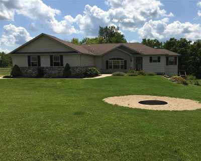 Green County Single Family Home For Sale: N6753 County Road X