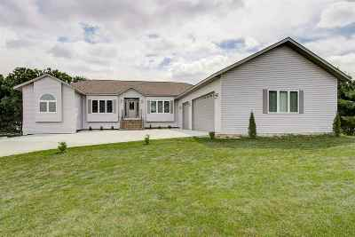 Jefferson County Single Family Home For Sale: W8527 White Crow Rd