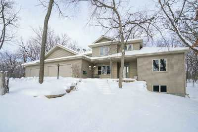 Green County Single Family Home For Sale: N8252 County Road J