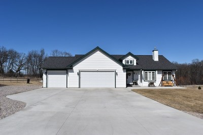 Columbia County Single Family Home For Sale: N1673 County Road A