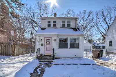 Madison Single Family Home For Sale: 709 Emerson St