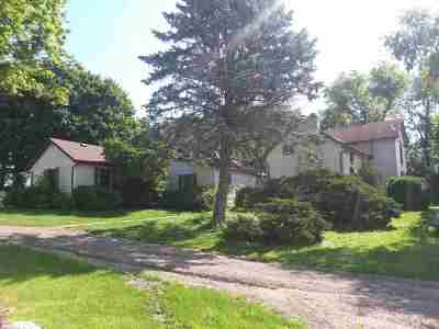 Green County Single Family Home For Sale: W6848 County Road B