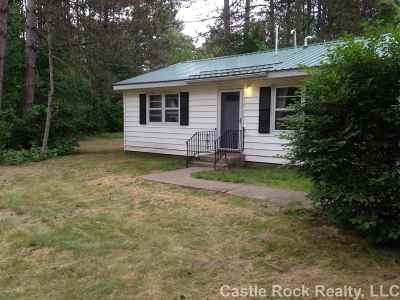 Adams WI Single Family Home For Sale: $104,900