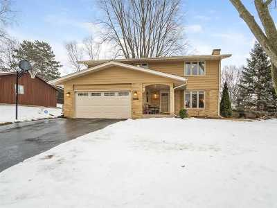 Cross Plains WI Single Family Home For Sale: $323,000