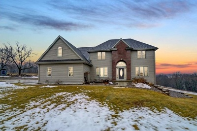 Green County Single Family Home For Sale: N8497 Zentner Rd
