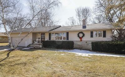 Mount Horeb WI Single Family Home For Sale: $249,000