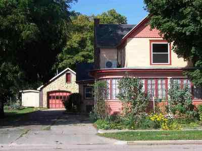 Black Earth Single Family Home For Sale: 1514 Mills St