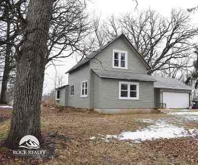 Beloit Single Family Home For Sale: 8540 W Mill Pond Rd