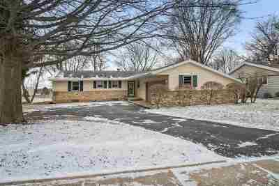 Stoughton Single Family Home For Sale: 1333 Holtan Rd