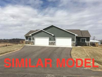 Green County Single Family Home For Sale: N8873 Hannah Rd