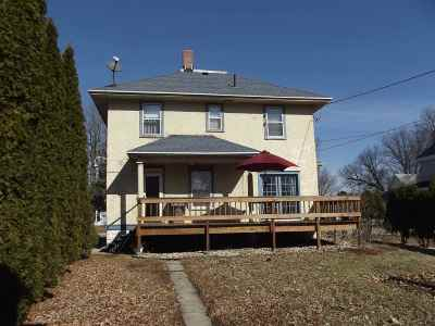 Evansville Single Family Home For Sale: 255 E Main St