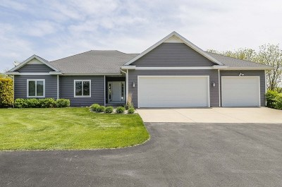 Green County Single Family Home For Sale: N7980 County Road Cc
