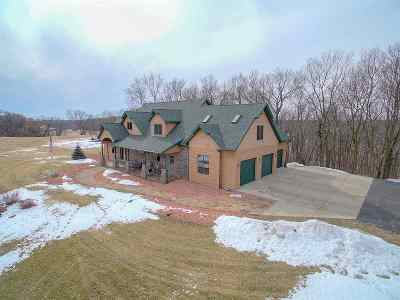 Jefferson County Single Family Home For Sale: W7357 County Road J