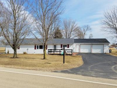 Green County Single Family Home For Sale: N2772 County Road Gg