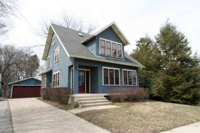 Stoughton Single Family Home For Sale: 416 N Page St