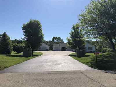Milton Single Family Home For Sale: 8032 N Serns Rd
