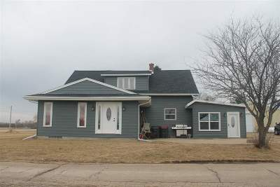 Rock County Single Family Home For Sale: 4821 E County Road J