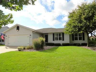 Janesville Single Family Home For Sale: 4412 Prairie Fox Dr
