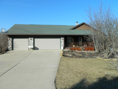 Green County Single Family Home For Sale: W1174 Jericho Dr