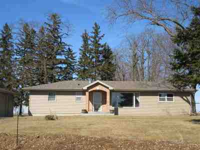 Cambridge Single Family Home For Sale: 1196 County Road B