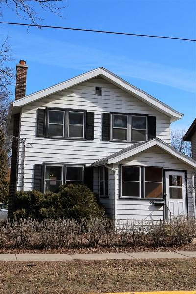 Madison Single Family Home For Sale: 29 N 5th St