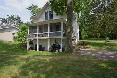 Columbia County Single Family Home For Sale: N4353 County Road V