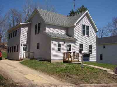 Iowa County Single Family Home For Sale: 229 Garden St